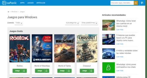 26 Páginas Para Descargar Juegos Para Pc Gratis