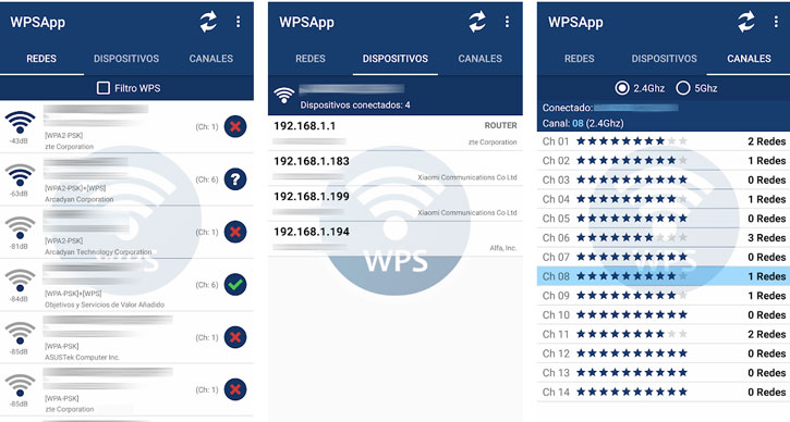 WPSApp Auditorias Wifi