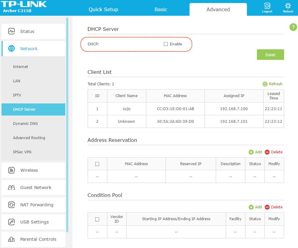 cambiar servidores DNS del Router