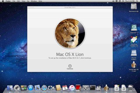 Mac OS X 10.6 Lion