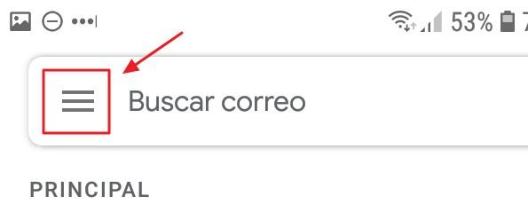 cambiar la contraseña desde la App de Gmail
