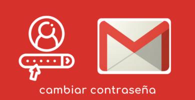 cambiar contraseña gmail