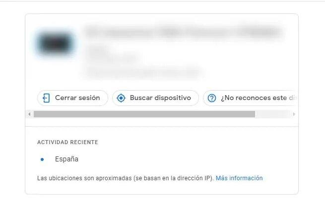 finalizar sesiones en gmail