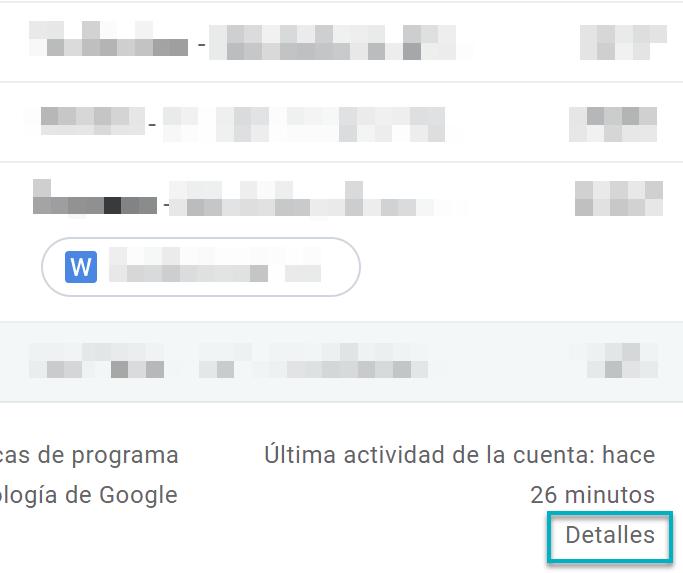 cerrar sesiones abiertas gmail