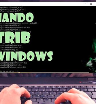 Comando Attrib en Windows. Cómo usarlo para eliminar virus