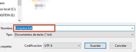 Cómo usar el comando Attrib para eliminar virus utilizando el bloc de notas paso 4