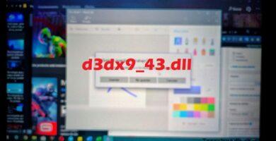 qué hacer si hace falta el d3dx9_43.dll