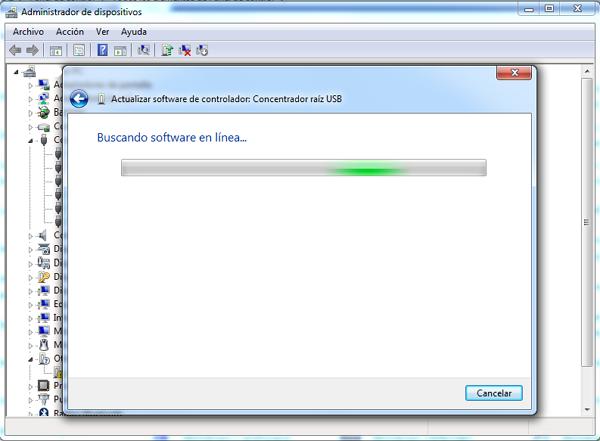 Actualizar controladores con el administrador de controladores paso 5