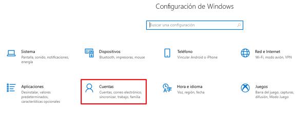 Cómo cambiar el nombre de usuario de Windows 10 mediante el panel de control paso 2