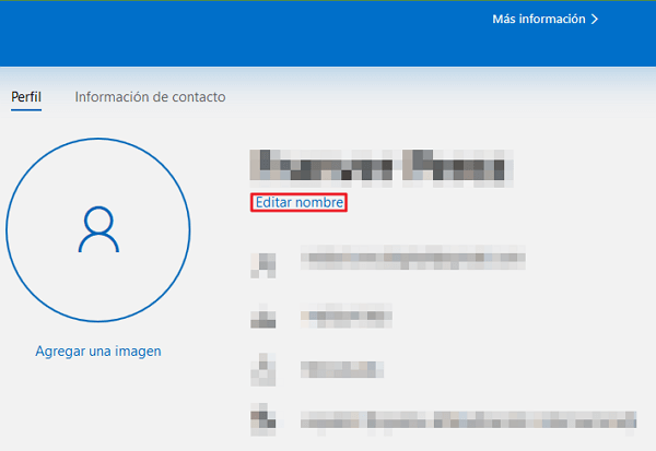 Cómo cambiar el nombre de usuario de Windows 10 mediante el panel de control paso 8
