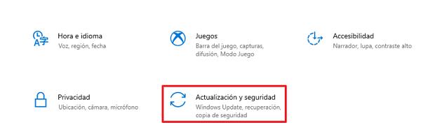 Cómo desactivar las notificaciones de actualización paso 2.