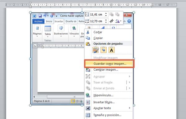 Cómo hacer captura de pantalla con ImprPant + Alt paso 3