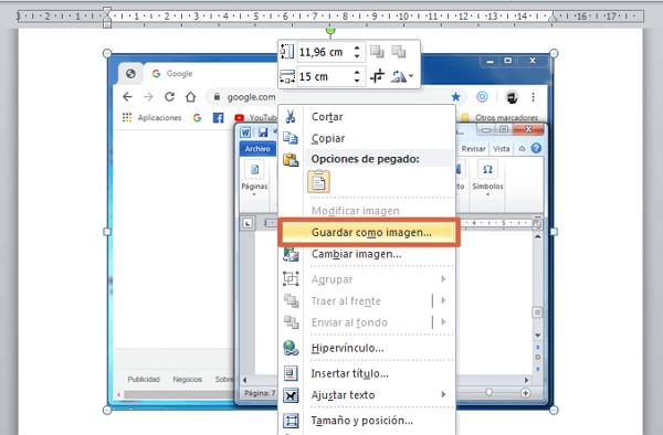 Cómo hacer captura de pantalla con Tecla ImprPant paso 3