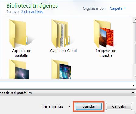 Cómo hacer captura de pantalla con Tecla ImprPant paso 4