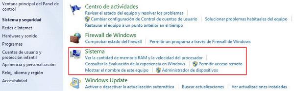 Cómo saber cuantos bits tiene mi PC Windows 7 paso 3