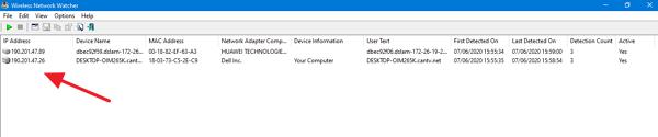 Cómo ver quien está conectado a mi Wi FI en Windows paso 4
