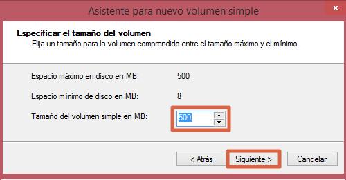 Eliminar y rehacer volumen de un USB desde el Administrador de Discos paso 5