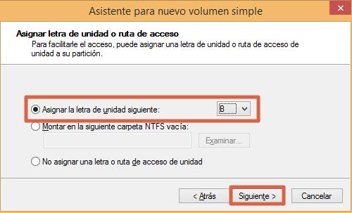 Eliminar y rehacer volumen de un USB desde el Administrador de Discos paso 6