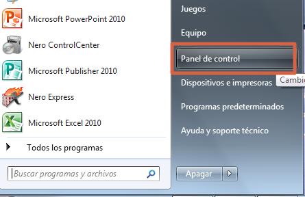Quitar la contraseña en Windows 7 paso 1