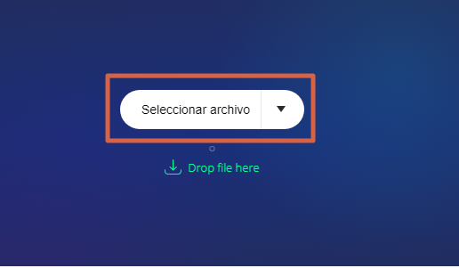 Recortar videos con Online video cutter paso 1