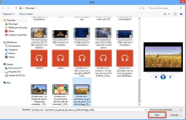 Recortar videos con Veed paso 6