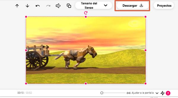 Recortar videos con Veed paso 8