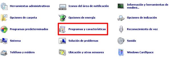 Remover Visual C++ paso 2