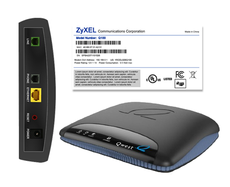 Router CenturyLink ZyXEL