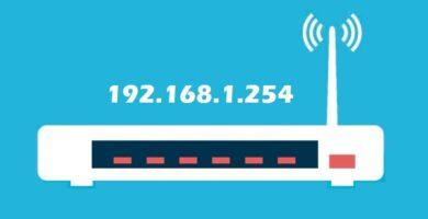 Cómo acceder a 192.168.1.254