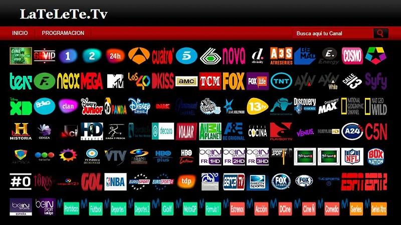 páginas alternativas para lateletete tv