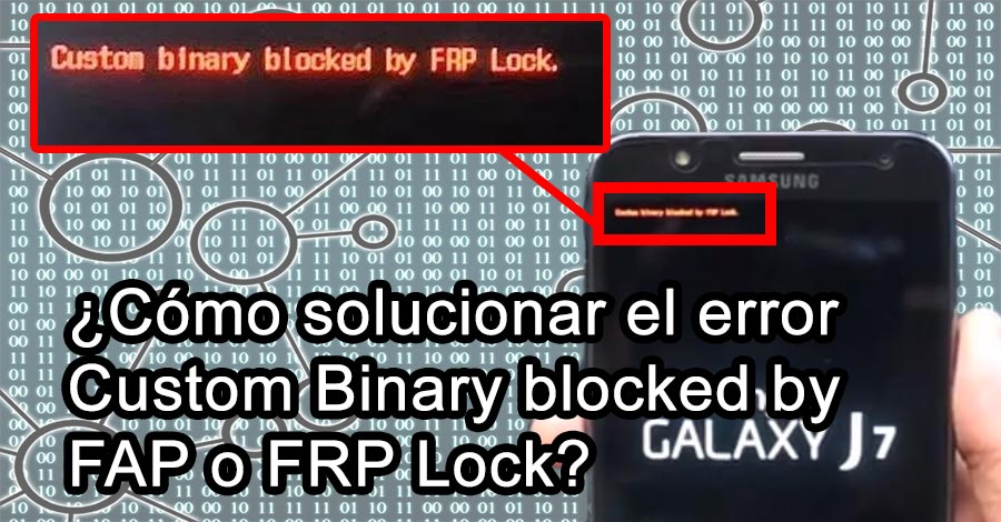 Custom binary blocked by FAP o FRP lock