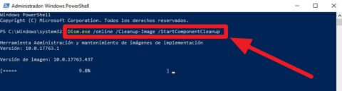 einicio limpio en windows 10