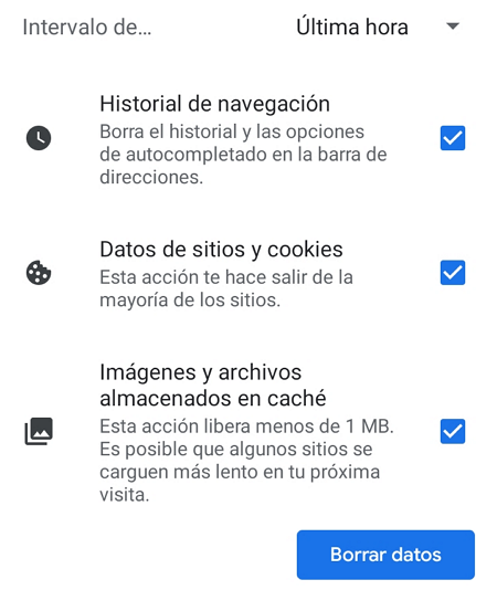 Chrome_movil_eliminar_cache