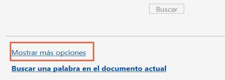 Buscar texto en un PDF utilizando más opciones de búsqueda avanzada paso 2