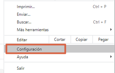 Cómo activar Adobe Flash Player en Google Chrome desde el menú de ajustes paso 2