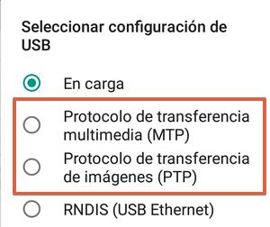 Cómo configurar la transferencia de archivos a la computadora desde el teléfono paso 8