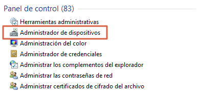 Cómo saber si tu laptop tiene Bluetooth paso 2