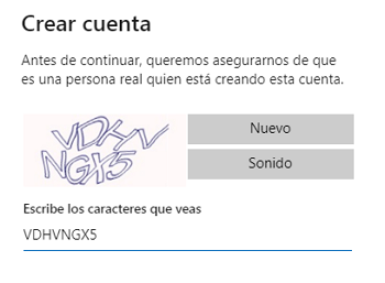 Crear un correo Hotmail Outlook paso 9