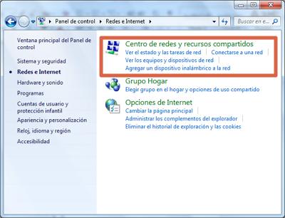 Error 0x80070422 solución desactivar conexión IPv6 paso 1