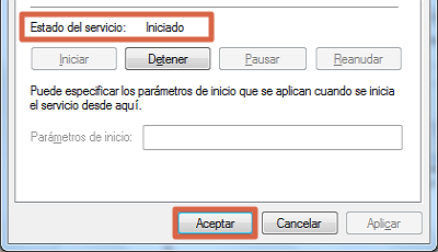 Error 0x80070422 solución restaurar Windows Update paso 4