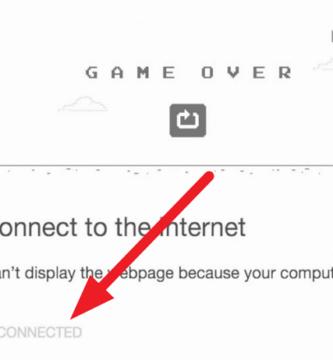 Solucionar error de conexión en Chrome