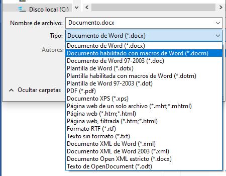 Cómo cambiar la extensión de un archivo desde cualquier otro programa