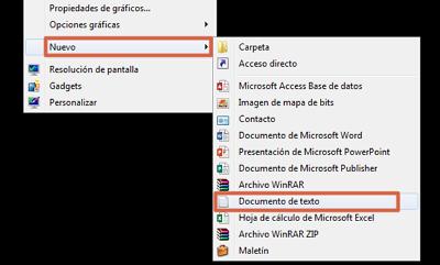Cómo ponerle contraseña a una carpeta en Windows usando Script paso 1