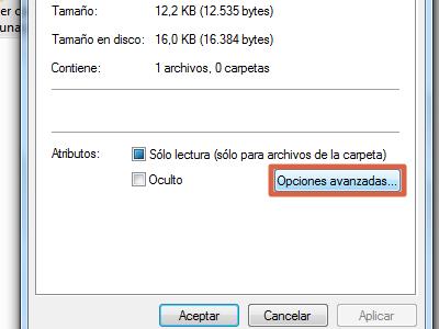 Cómo ponerle contraseña a una carpeta en Windows usando encriptar paso 2