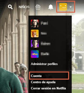 Cómo cambiar la contraseña de Netflix desde un navegador de tu computadora paso 4