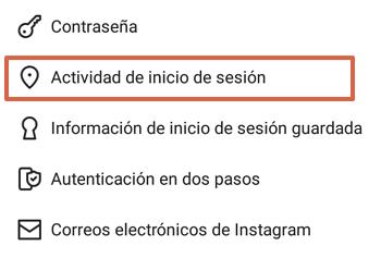 Cómo cerrar sesión de Instagram en todos los dispositivos en que estén abiertos desde el teléfono paso 5