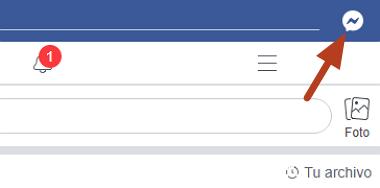 Cómo descargar audio desde Facebook Messenger desde la PC paso 2