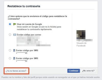 Cómo recuperar una cuenta de Facebook con amigos de confianza paso 3