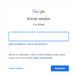 Cómo recuperar una cuenta de Google