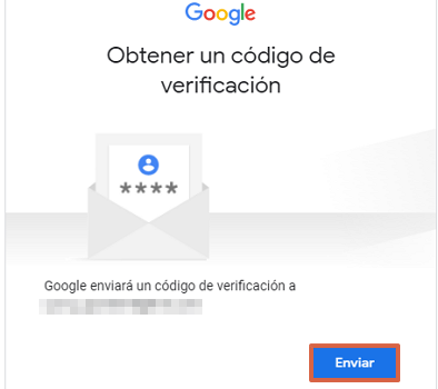 Cómo recuperar una cuenta de Google sin el correo electrónico paso 5